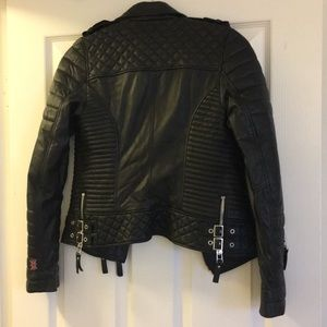boda skins Jackets & Coats - Bosa Skins Black Leather Jacket
